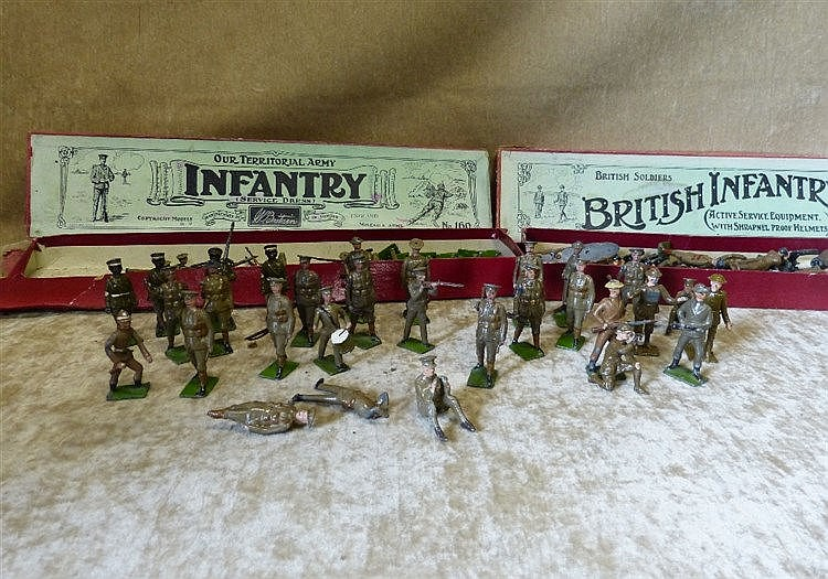 A Quantity Britians Lead British Infantry and Territorial Army wi
