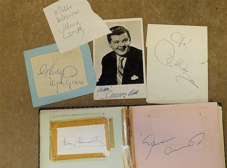 An Autograph Album of Cliff Richard, Diana Dors, Adam Faith, Pete