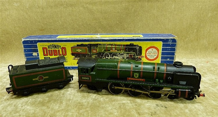 A Hornby Dublo 3235 West Country Locomotive