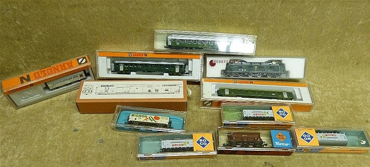 A Hobbytrain SWB/CFF RE6/6 Engine Boxed and 10 similar Arnold, RO