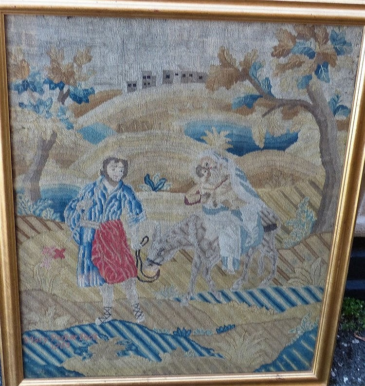 An 18th Century Tapestry