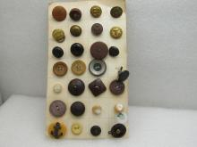 Military Buttons for Sale at Online Auction | Rare