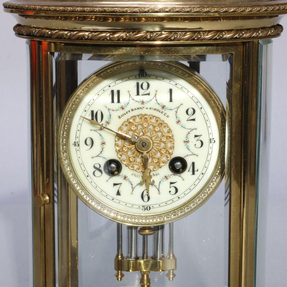 French D Argent For Bailey Banks Biddle Clock