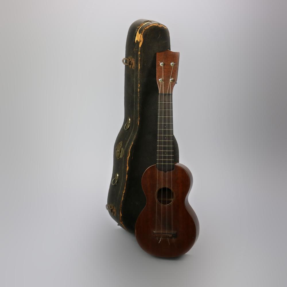 """Vintage C.F. Martin & Co. 21"""" Ukulele & Case, 20th C"""