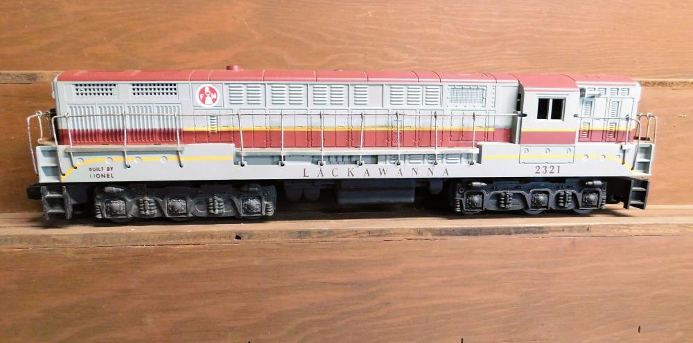 Lionel 2321 Lackawanna engine