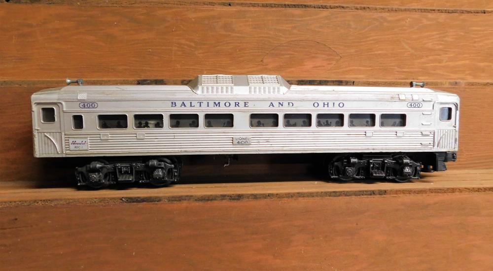 Lot 15: Lionel 400 BNO Baltimore and Ohio Passenger Car
