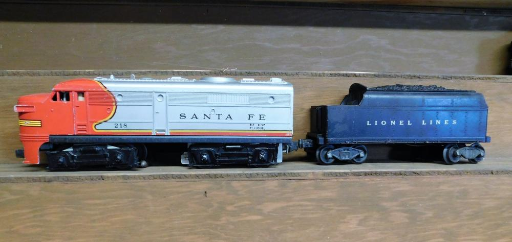 Lionel 218 Santa Fe Engine