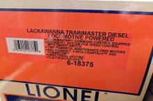 Lot 48: Lionel Lackawanna trainmaster diesel locomotive 6-18375