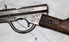 Lot 52: Quakenbush 4730 BB gun 1882 Model 83