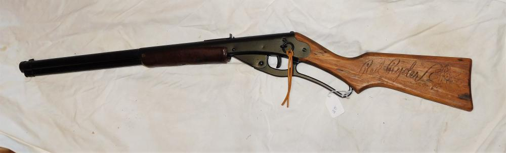 Lot 84: Daisy Red Ryder BB Gun
