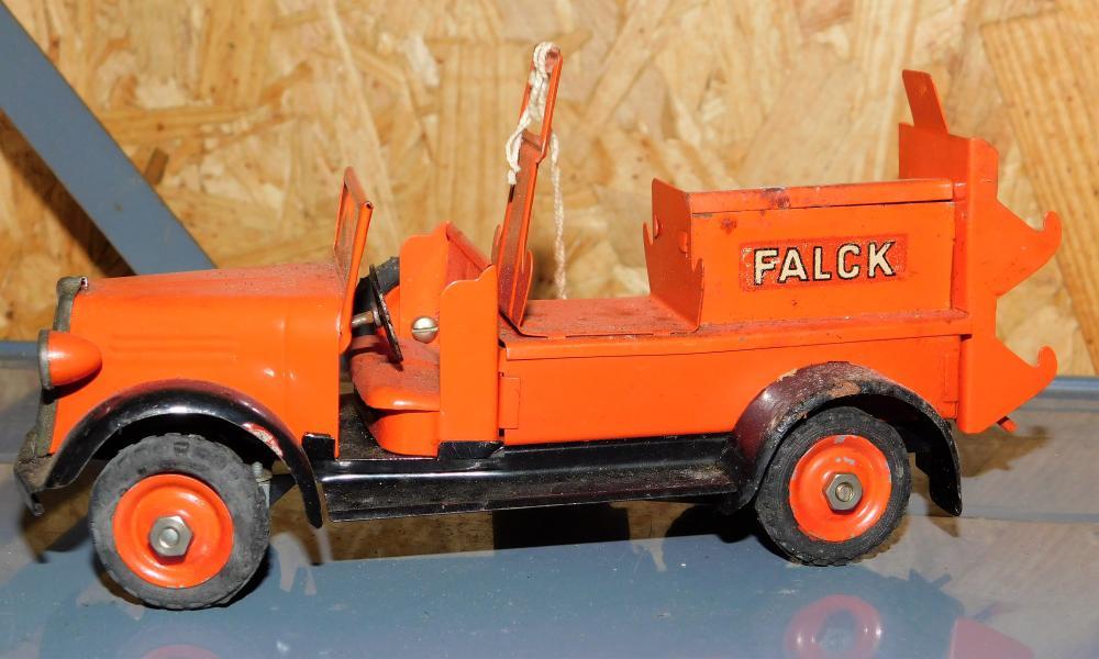 Techno made in Denmark Falck Fire Truck
