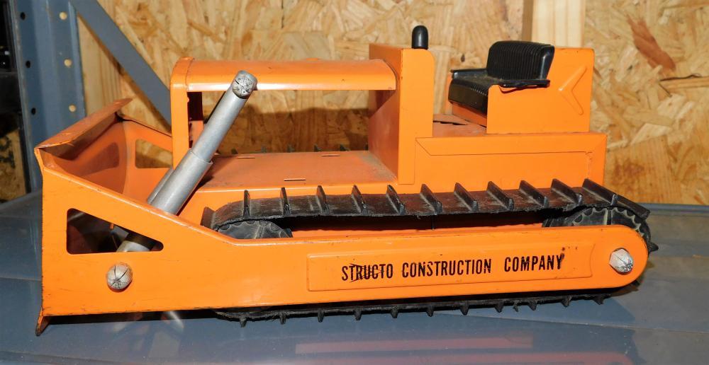 Structo Construction Company Bulldozer