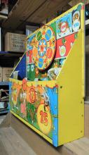 Lot 124: Marx wind up shooting gallery. Tin Litho
