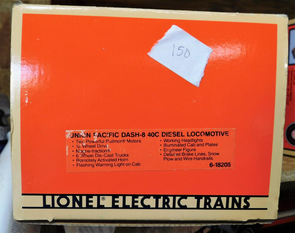Lionel  Union pacific -840c diesel engine.