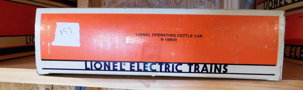 Lionel Operating cattle car 6-19800