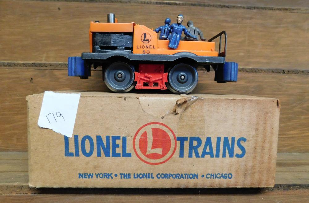 Lionel trains 50 Gang car in box