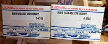 Lot 180: Lionel Limited edition immuminated bud car (qty 2) 6-8765