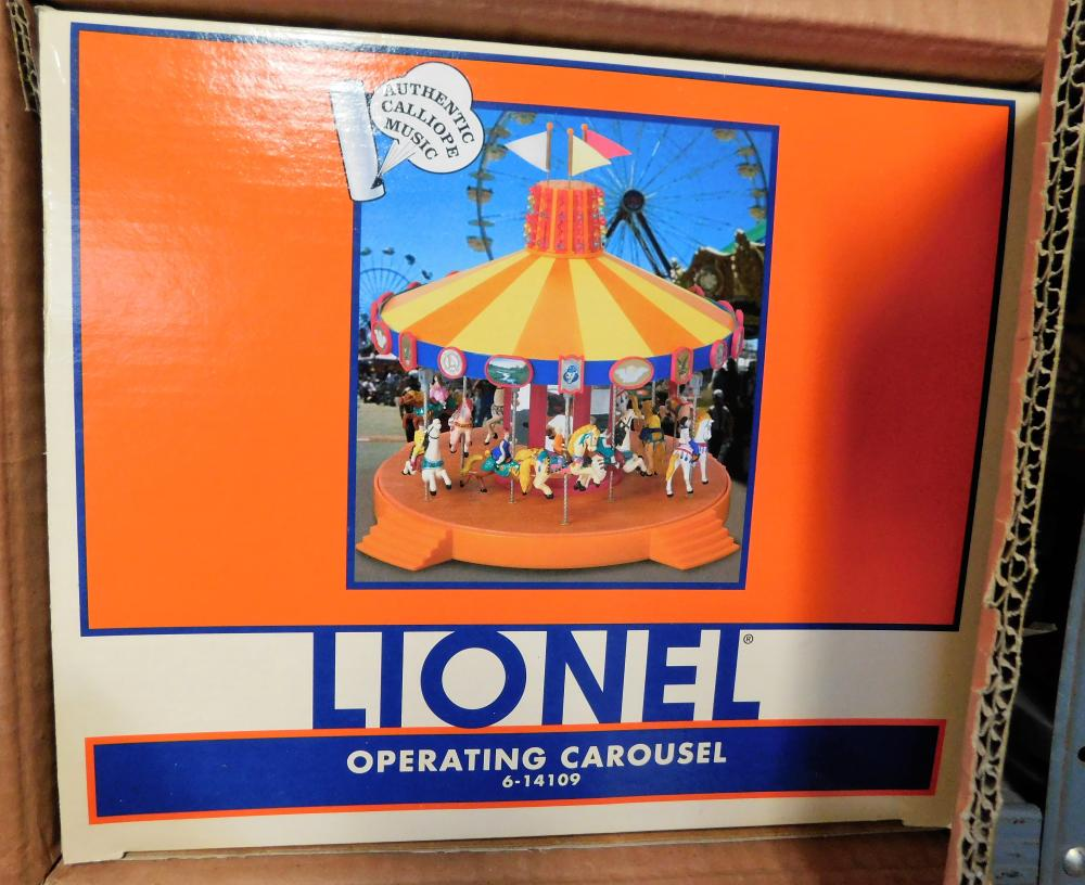 Lionel operating carousel 6-14109