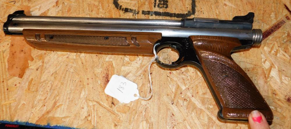American Classic Model 1377 .177 Cal. Crossman arms pistol.