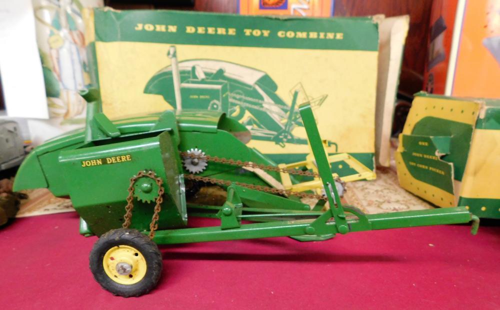 John Deere Toy Combine in Original Box