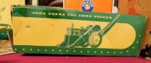 Lot 187: John Deere Toy Corn Picker In Original Box