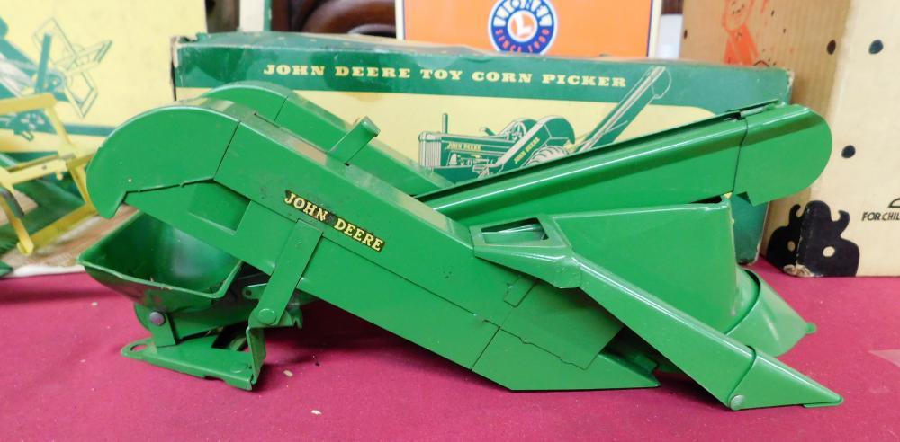 John Deere Toy Corn Picker In Original Box
