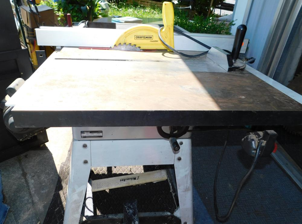 Delta Industrial Table Saw and Router Mod. 36-979