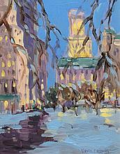 Keith Oehmig - 5th Avenue in Winter