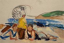 Ethel Louise Paddock - The Bathers