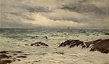 Samuel Peter Rolt Triscott - A Chop Sea, Monhegan