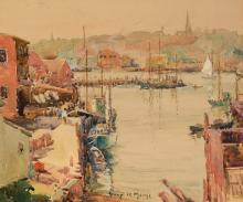 Harry DeMaine - Gloucester Harbor