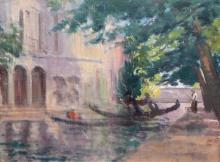 Harold Latham - Morning Light, Venice