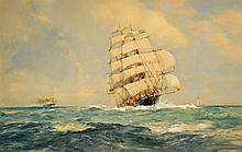 Frank Henry Algernon Mason - Under Full Sail on the High Seas