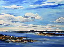 Keith Oehmig - September Skies, Middle Bay