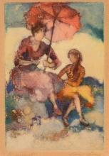Edna Gass - Le Parasol