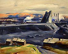 John Fulton Folinsbee - Freeland Coal Breaker