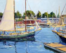 Keith Oehmig - About to Leave Harbor