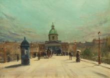 Andre Gisson - Pont des Arts, Paris