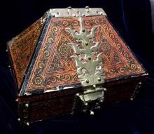 Antique Mogul India Marriage Box 19th century