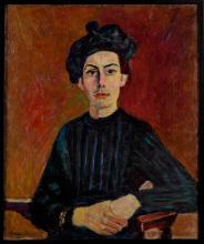 Czesław Rzepiński (1905-1995) - Portret kobiety