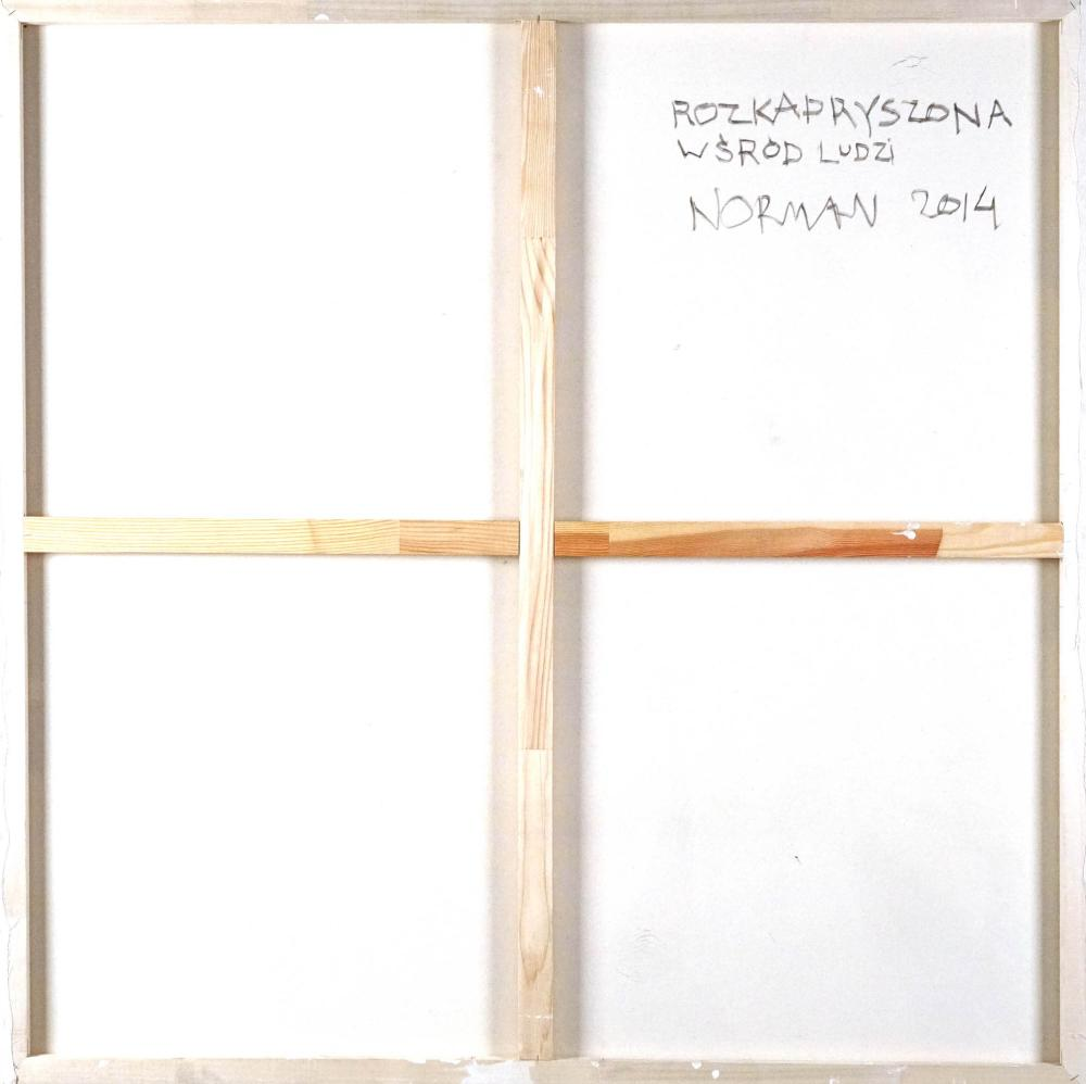Norman Leto (born 1980) - The Spoiled One Among People, 2014