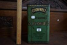 Australian Cook-well self raising flour tin