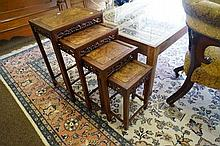 Nest 4 Chinese carved tables