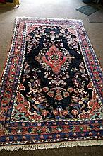Armanibaf woollen rug c 1940's from Southern Iran