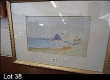 Watercolour by E Wild c1918