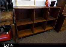 1960's Retro Danish rosewood bookshelves