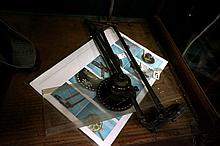WWII chart table plotter dated 1941