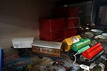 7 Hornby O gauge wagons in original boxes in mint & good condition