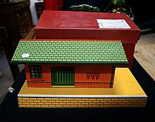 Hornby O gauge No 1 goods platform in original box in mint condition