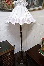Blackwood standard lamp